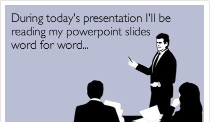 Nie czytaj prezentacji.