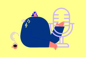 Podcasty mocno w górę w 2020 roku